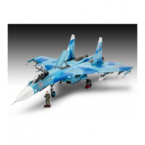 Model set revell avion sukhoi su27 sm rv64937