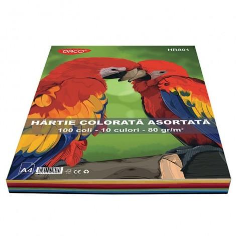 Hartie colorata 100 coli