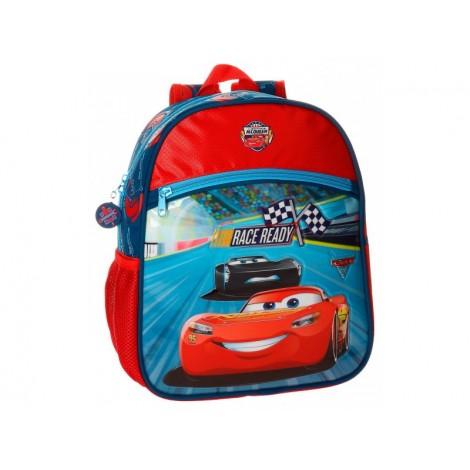 Ghiozdan scoala adaptabil 33 cm Cars Race