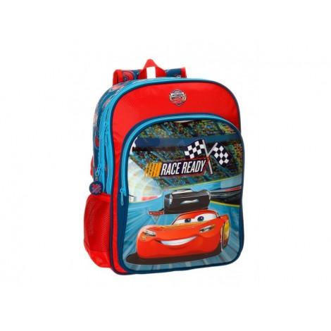 Ghiozdan scoala 40 cm 2 compartimente Cars Race