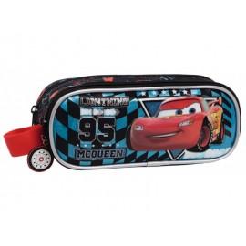 Penar 23 cm 2 compartimente Cars Glitter