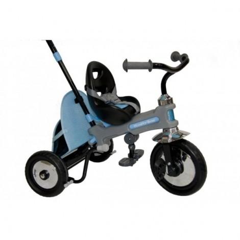 Tricicleta azzuro albastra