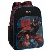 Ghiozdan de scoala 40 cm Superman - Batman