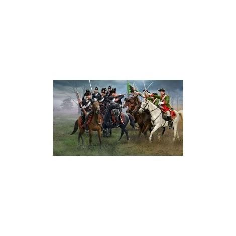 Figurine revell razboiul de sapte ani cavalerie austriaca si hussari prusaci rv2453
