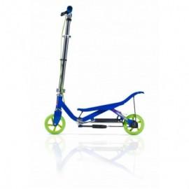 Trotineta space scooter x360 series, junior, albastru