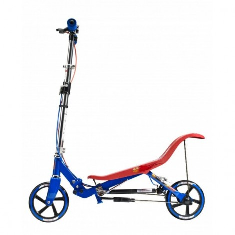 Trotineta space scooter x580 series, rosu-albastru