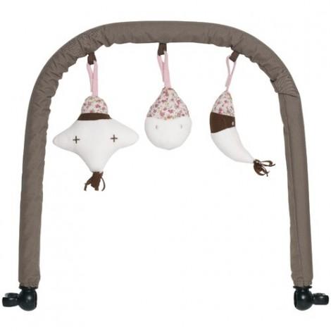 Set accesorii balansoar - Chocolate