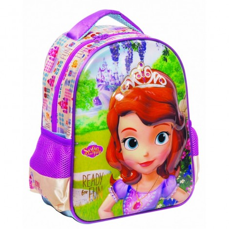 Ghiozdan gradinita sofia the first - ready for fun