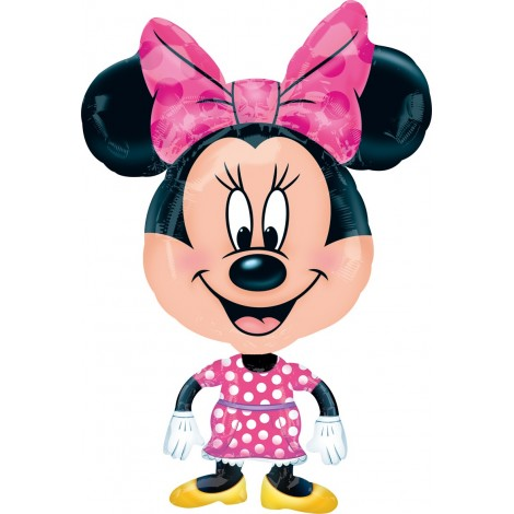 Balon Airwalker Minnie