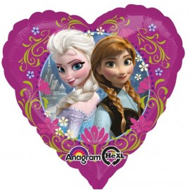 Balon Folie Frozen Inima 45 Cm