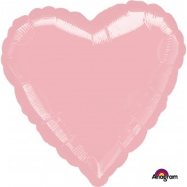 Balon Folie Inima Roz 45 Cm