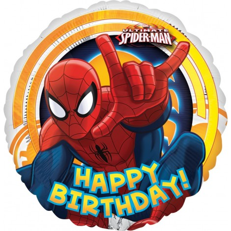 Balon Folie Spiderman 45 Cm