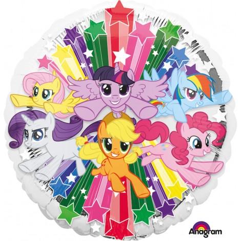 Balon Folie Micul Meu Ponei 45 Cm