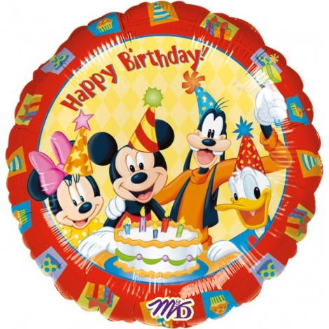 Balon Folie Mickey 45 Cm
