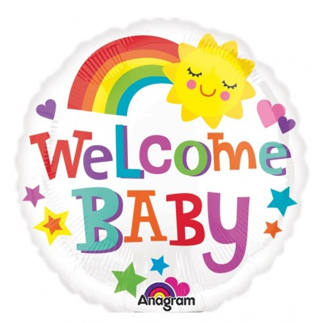 Balon Welcome Baby 23 cm