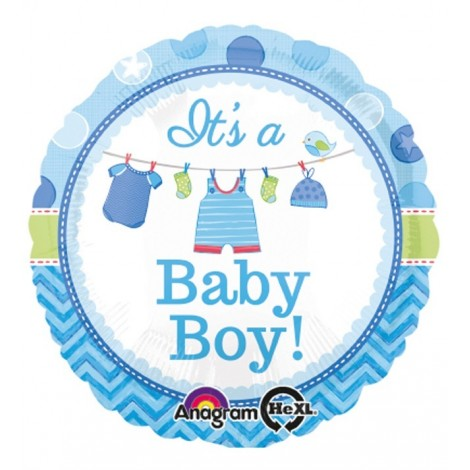 Balon Baby Boy Folie 45 Cm