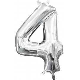 Balon Folie Mini Cifra 4
