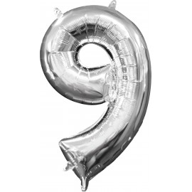 Balon Folie Mini Cifra 9
