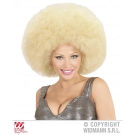 Peruca Afro Blonda