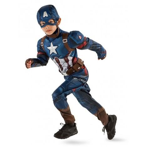 Costum Marvel Captain America 5-6 Ani