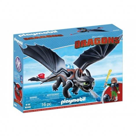 Hiccup Si Toothless imagine