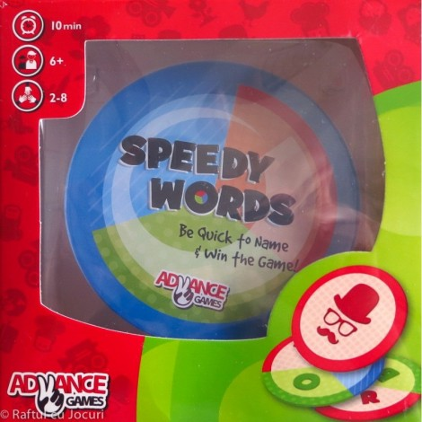 Joc de strategie - Speedy Words - Cuvinte rapide