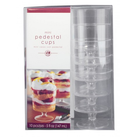 Set Boluri Rotunde Transparente 10 Buc