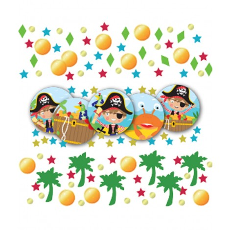 Confetti Pirat