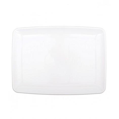Farfurie Plastic pentru Aperitiv Alba