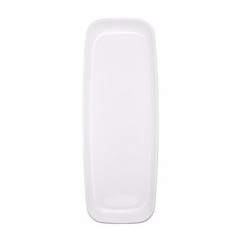 Farfurii Dreptunghiulare Plastic Albe 10 Buc