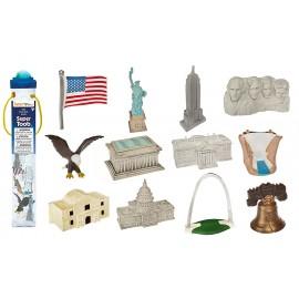 Tub cu 12 figurine - USA