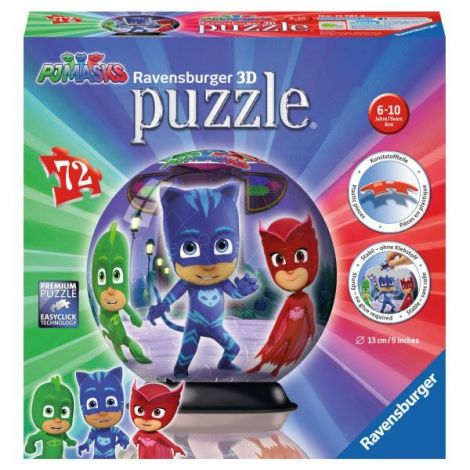 PUZZLE 3D EROI IN PIJAMALE MOTIV 1