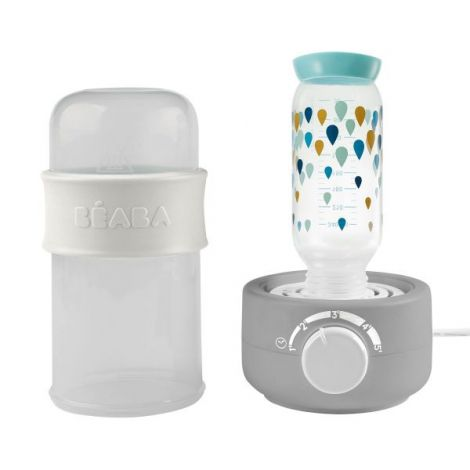 Incalzitor biberoane si sterilizator Baby Milk Second Gri