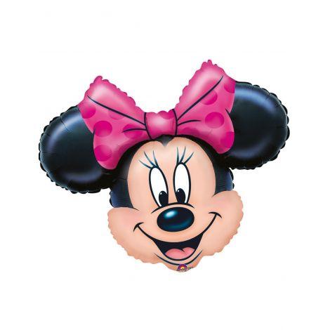 Balon Folie Figurina Minnie 23 Cm imagine