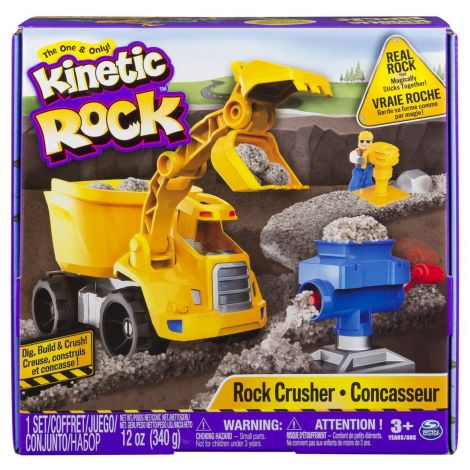 Nisip Kinetic Rock - Set excavator 340 g - Kinetic Sand