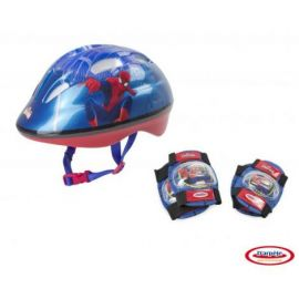 SPIDERMAN - SET PROTECTIE (CASCA, GENUNCHIERE, COTIERE)