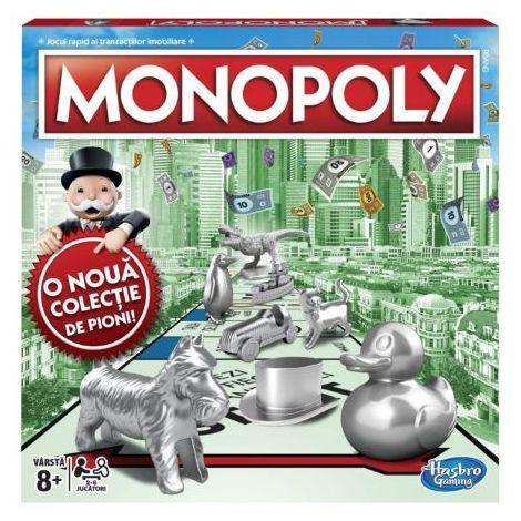 Joc Monopoly Standard CU PION NOU Hasbro HB9742