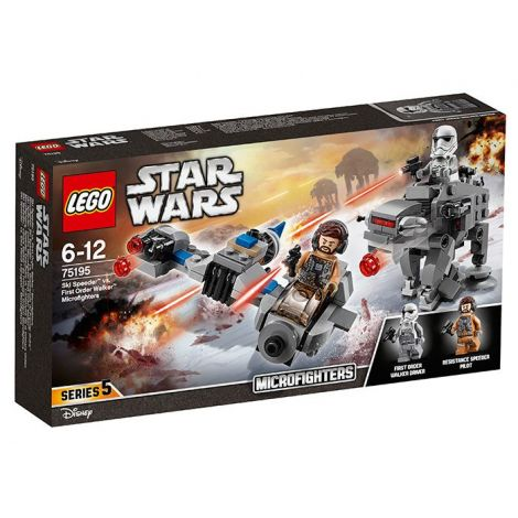 Ski Speeder contra Walker al Ordinului Intai Microfighters (7519
