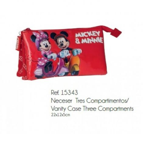 Borseta penar Mickey & Minnie 22 cm
