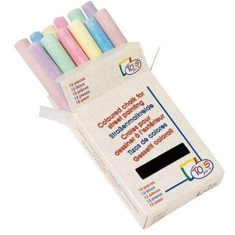 Set creta colorata 12 buc Goki