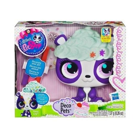 Littlest Pet Shop Decoreaza Figurina ta Panda