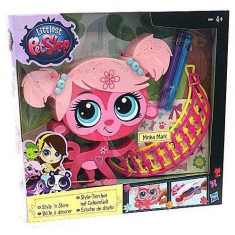 Littlest Pet Shop Decoreaza Figurina ta Minka Mark
