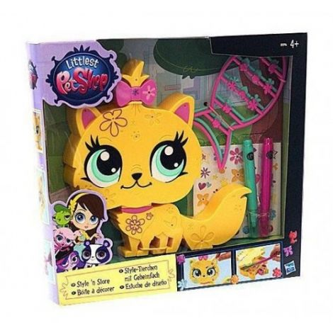 Littlest Pet Shop Decoreaza Figurina ta Collie