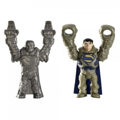 Figurina lansatoare Man of Steel Krypton Clash Superman