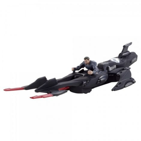 Figurina Man of Steel si vehicul Shadow Cruiser