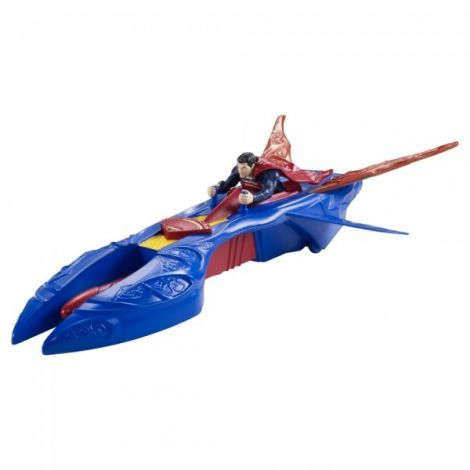 Figurina Man Of Steel Si Vehicul Kryptonian Interceptor imagine