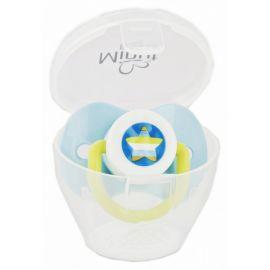 Suzeta Minut Baby si cutie pentru sterilizare diverse culori