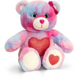 Ursulet cu inimioara Glitter Gems 25 cm Multicolor Keel Toys