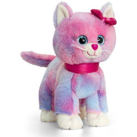 Pisicuta cu inimioara Glitter Gems 25 cm Multicolor Keel Toys