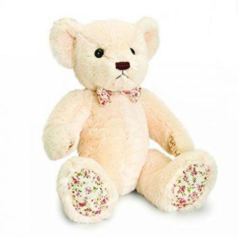 Ursulet de plus Belle Rose crem 25 cm Keel Toys